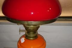 h 37 cm petroliumslampe kr. 550,00
