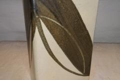 Beige/brun vase H 23 cm pris kr. 300,oo