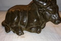 længde 22 cm meget tung (stengods) vandbøffel kr. 1000,00