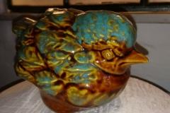 h 10 cm en bistert udseende fugl i flotte farver kr. 400,00