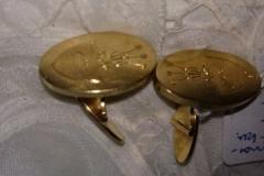 par guld manchetknapper 20 gr. 14 karat kr. 3.000,00