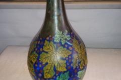 Fantastisk Hollandsk vase mrk.134 bluemem Kr. 600,00 Højde 28 cm