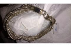 Armlænge i sølv 43 gr. Sterling kr. 350,00